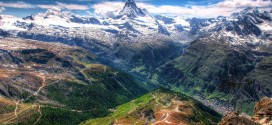 Photographie du jour #485 : Alpine Vista and Matterhorn