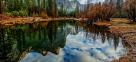 Photographie du jour #483 : Three Brothers Reflection – Yosemite