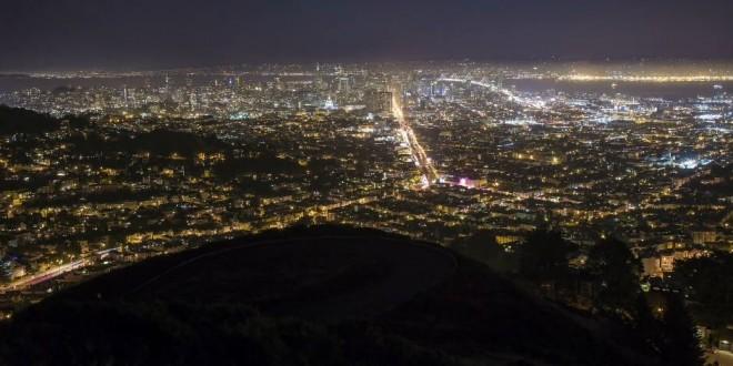 La ville de San Francisco comme vous ne l'avez jamais vue à travers un time lapse