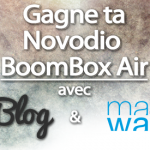 concours Novodio BoomBox Air