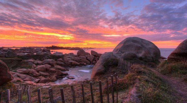 La beauté du ciel de la Bretagne en time lapse HDR