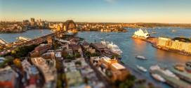 La ville de Sydney en time lapse miniature