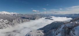 La beauté des Alpes juliennes en time lapse