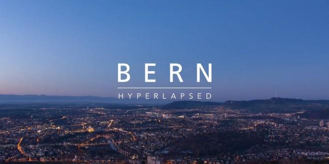 La beauté de la ville de Berne en time lapse