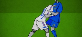 Les moment historiques du foot en affiches minimalistes – Osvaldo Casanova