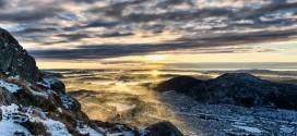 Bergen dans toute sa splendeur en time lapse