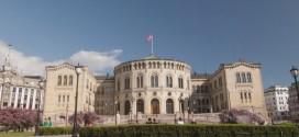 Time lapse sur la ville d'Oslo au printemps