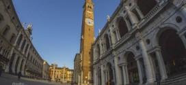 Voyage en time lapse dans la ville de Vicence