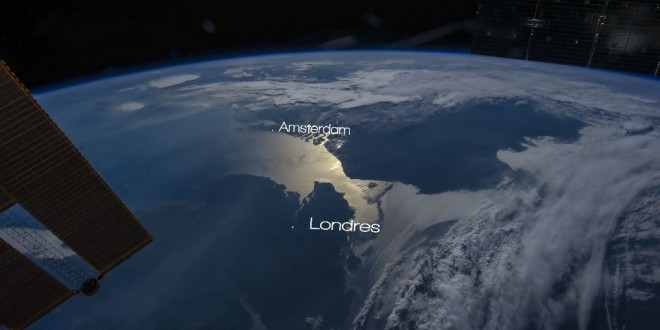 De superbes séquences sur la terre vue depuis l'espace – time lapse