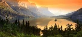 Photographie du jour #527 :  Wildgoose island –  parc national de Glacier