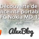 concours  enceinte portable NFC Nokia MD-12
