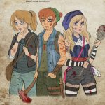 walking-dead-disney-pixar-dreamworks-kasami-sensei (15)