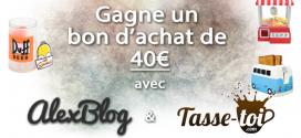 Gagne un bon d'achat de 40€ chez Tasse-Toi – spécialiste de cadeaux