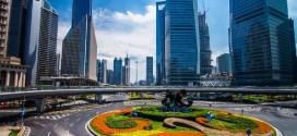 La ville chinoise de Shanghai en time lapse