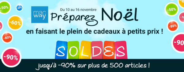 MacWay lance ses soldes dautomne