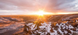 Le Désert rouge du Wyoming dans un magnifique time lapse