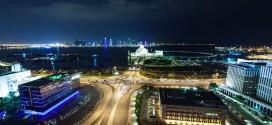 L'émirat  du Qatar vu en time lapse