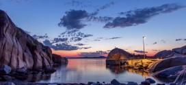 Une journée sur le littoral Norvégien en time lapse