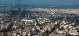 Paris en miniature et en time lapse