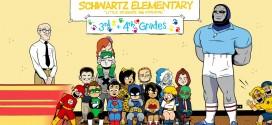 Les super-héros et vilains retournent à l'école