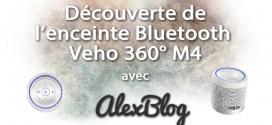 Découverte de l'enceinte Bluetooth Veho 360° M4