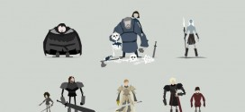 Les illustrations minimalistes de Game of Thrones par Jerry Liu