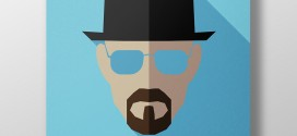 Affiches minimalistes de super-héros et vilains par Moritz Adam Schmitt