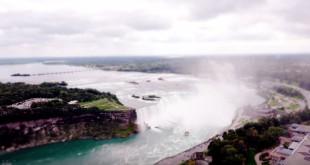 Time Lapse Tiltshift Chutes Du Niagara