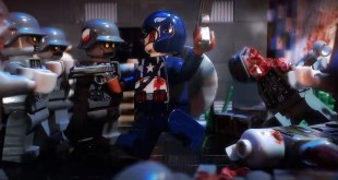Lego Captain America 3 Nazi Zombies Stop Motion