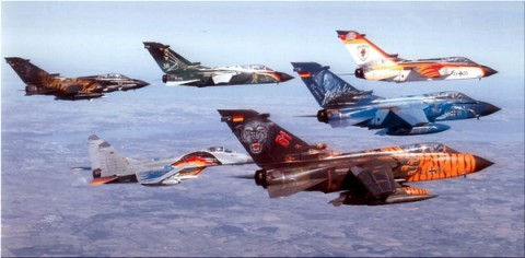 avions de chasses