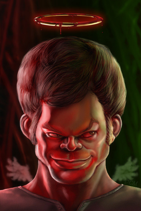 Dexter_caricature_by_CASTEL