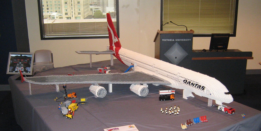 Photo of Une nouvelle version de l'Airbus A380 en LEGO
