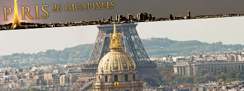 Une photo panoramique de paris de 26 gigapixels