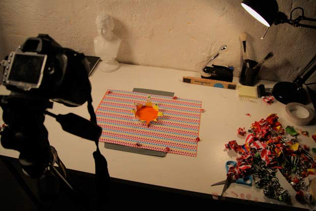 Photo of Snask un Stop Motion en papier