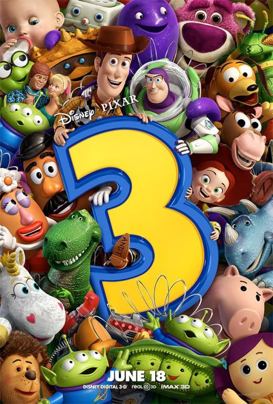 Photo of Un magnifique poster inédit pour Toy Story 3 !