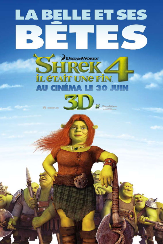 Photo of Shrek 4, la série d'affiches + le trailer