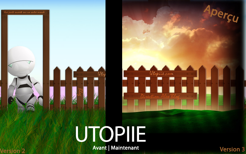 Photo of Utopiie change de peau