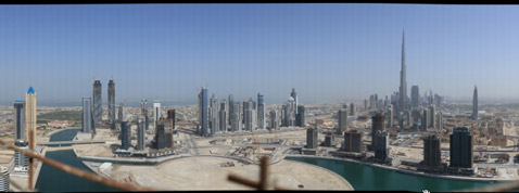 Photo of Un panorama de Dubai de 45 gigapixels !