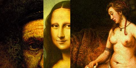 Photo of Eric Tranchefeux et ses tableaux de maître sous Photoshop