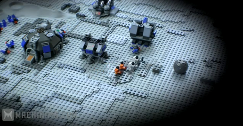 Photo of Starcraft en stop-motion Lego