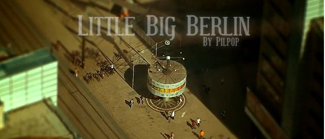 Photo of Berlin filmé en Tilt Shift