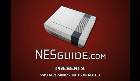 Photo of 749 jeux Nintendo NES résumée une vidéo