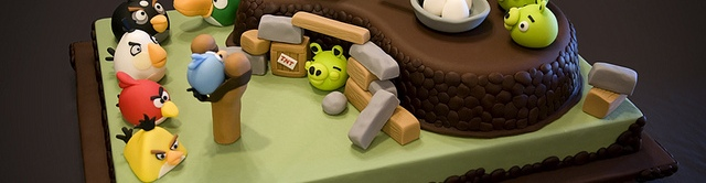 Photo of Gateau Angry Birds