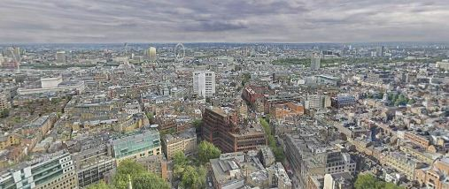 Photo of Londres à son tour en GigaPixel