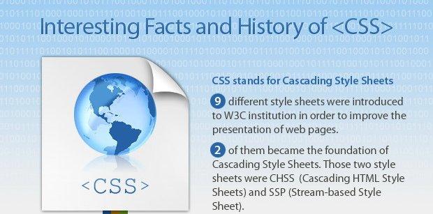 Photo of L'histoire du CSS