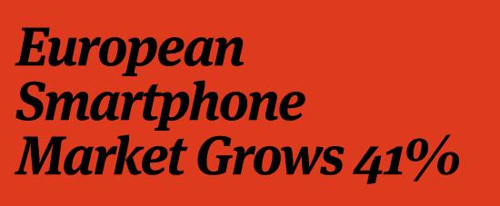Photo of Le marché Européen des Smartphones