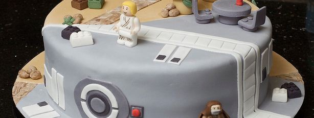 Photo of Gateau Star Wars et Indiana Jones
