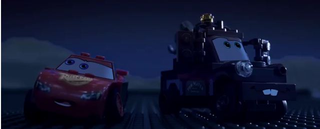 Photo of Trailer de Cars 2 en lego