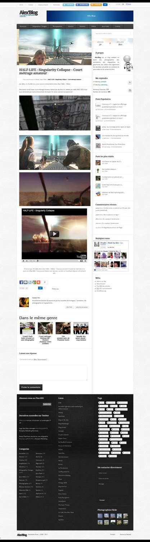 Photo of Changement de thème pour Alex'Blog !