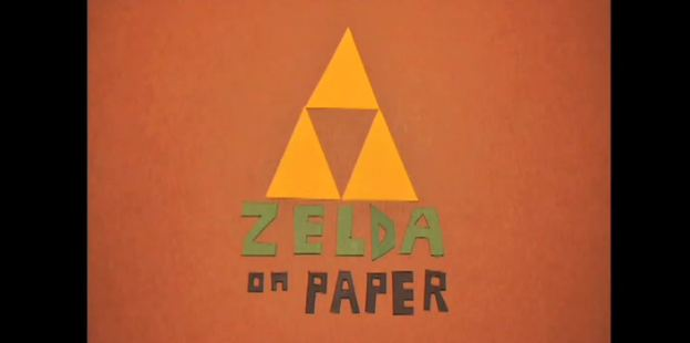 Photo of Zelda en papier et en stop motion !